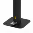 Lábbal működtethető 3,5 literes adagoló, fekete