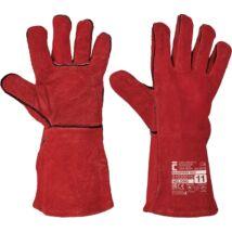 SANDPIPER RED bőrkesztyű