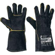 SANDPIPER BLACK bőrkesztyű-11