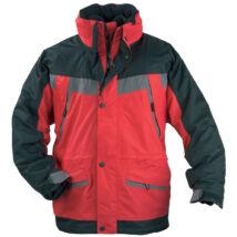 ICEBERG 3 AZ 1ben vitorlás kabát, piros-fekete