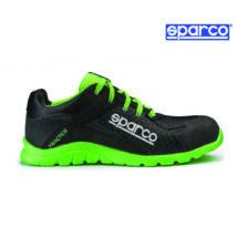 Sparco Practice munkavédelmi cipő S1P (fekete-fluozöld)