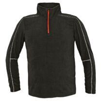 WELBURN polár pulóver fekete