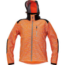 KNOXFIELD softshell dzseki narancs