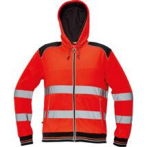 KNOXFIELD HI-VIS pulóver, piros