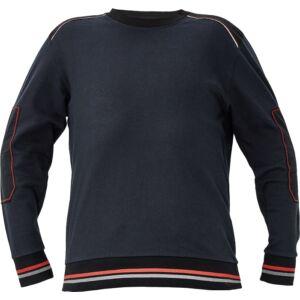 KNOXFIELD pulóver antracit/piros