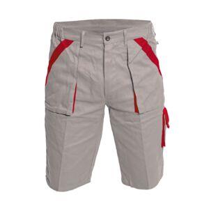 MAX rövidnadrág, fekete-piros
