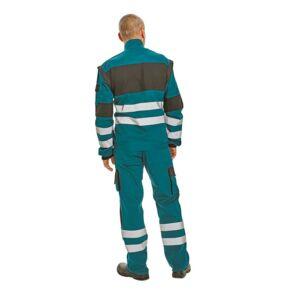 MAX RFLX kabát zöld/fekete