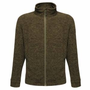 THORNLY MEN - FULL ZIP MARL FLEECE