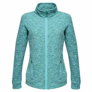 THORNLY WOMEN - FULL ZIP MARL FLEECE