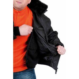 PILOT kabát fekete