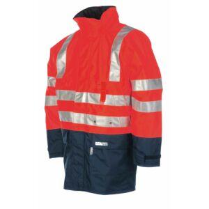 WINSELER kabát fényvisszaverő piros