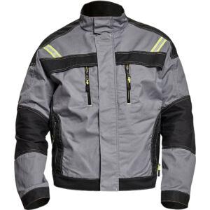 URAN kabát szürke/fekete