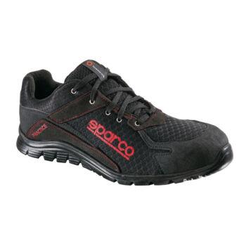 Sparco Practice munkavédelmi cipő S1P (fekete-piros)