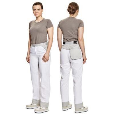 MONTROSE LADY nadrág fehér/szürke