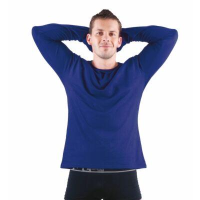 CAMBON hosszú ujjú trikó melírozott