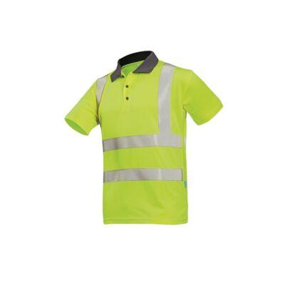 POPOLA HV  polo-shirt HV sárga