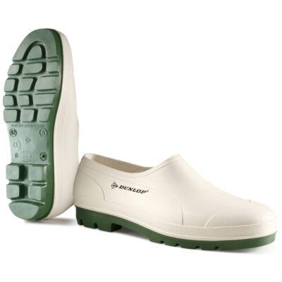 DUNLOP WELLIE zoknira húzható cipő, fehér
