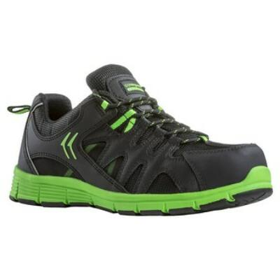 MOVE (S3 SRA) védőcipő, fekete-zöld