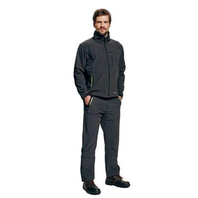 OLZA softshell kabát szürke S