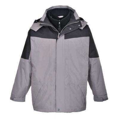 Aviemore 3az1-ben kabát - szürke