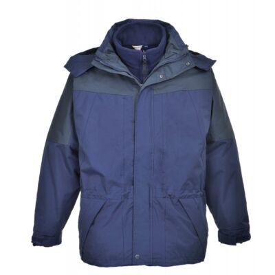 Aviemore 3az1-ben kabát - sötétkék