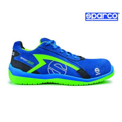 fb1cadda4e44 Sparco Sport Evo munkavédelmi cipő S1P (kék-zöld) termék, 23.170 Ft ...
