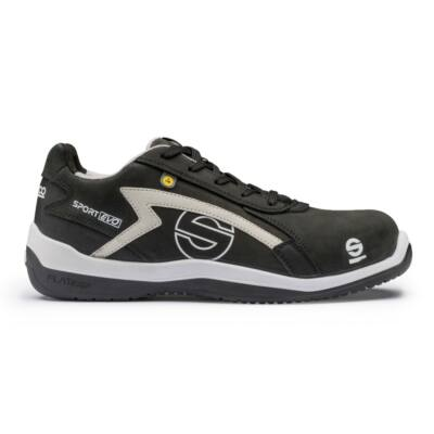 Sparco Sport Evo munkavédelmi cipő S3 (fekete-szürke)