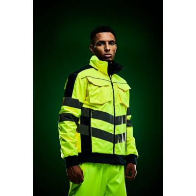 HI-VIS PRO BOMBER JACKET, láthatósági kabát