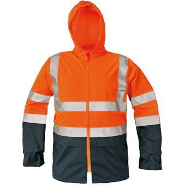 EPPING kabát fényv narancssárga/navy