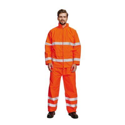 GORDON Hi-Vis esőkabát narancs