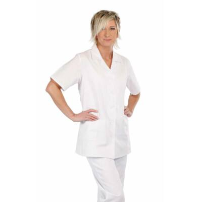 LILY rövidujjú női ing fehér