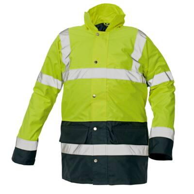 SEFTON kabát HV sárga/navy