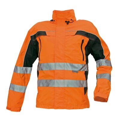 TICINO kabát HV narancs/feteke