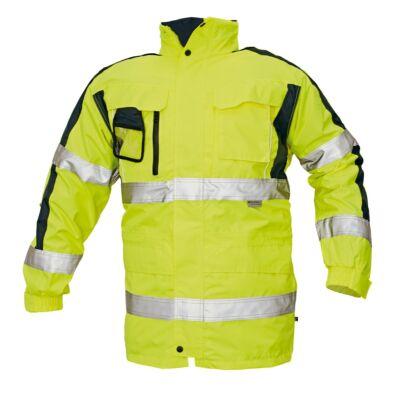TRIPURA HV kabát 4n1 sárga