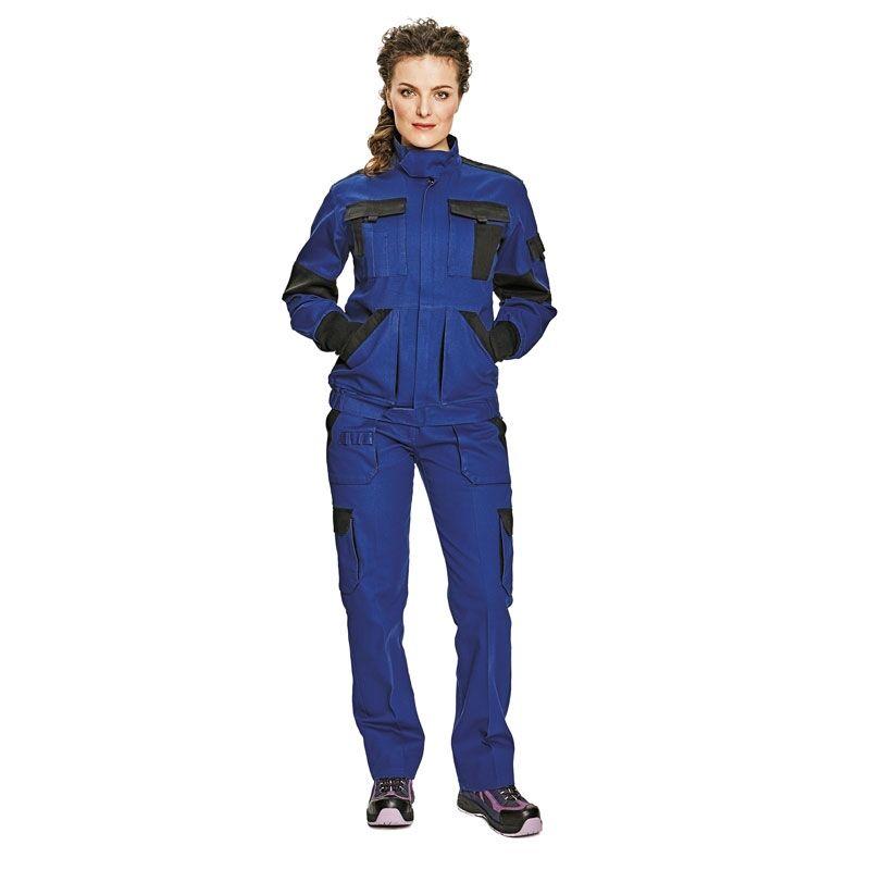 MAX LADY női nadrág kék/fekete
