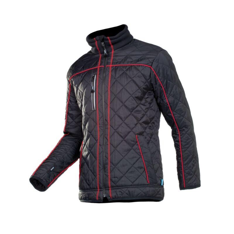 GERMO kabát piros/fekete