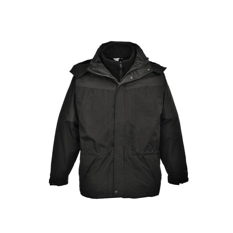 Aviemore 3az1-ben kabát - fekete