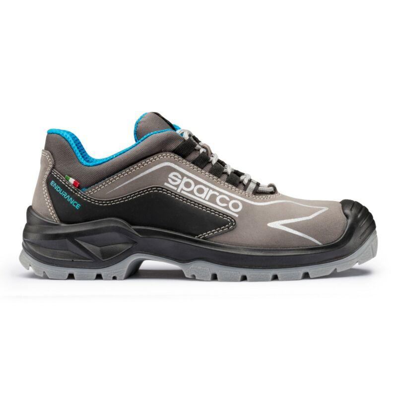 Sparco Endurance munkavédelmi cipő S3 SRC (fekete-szürke)
