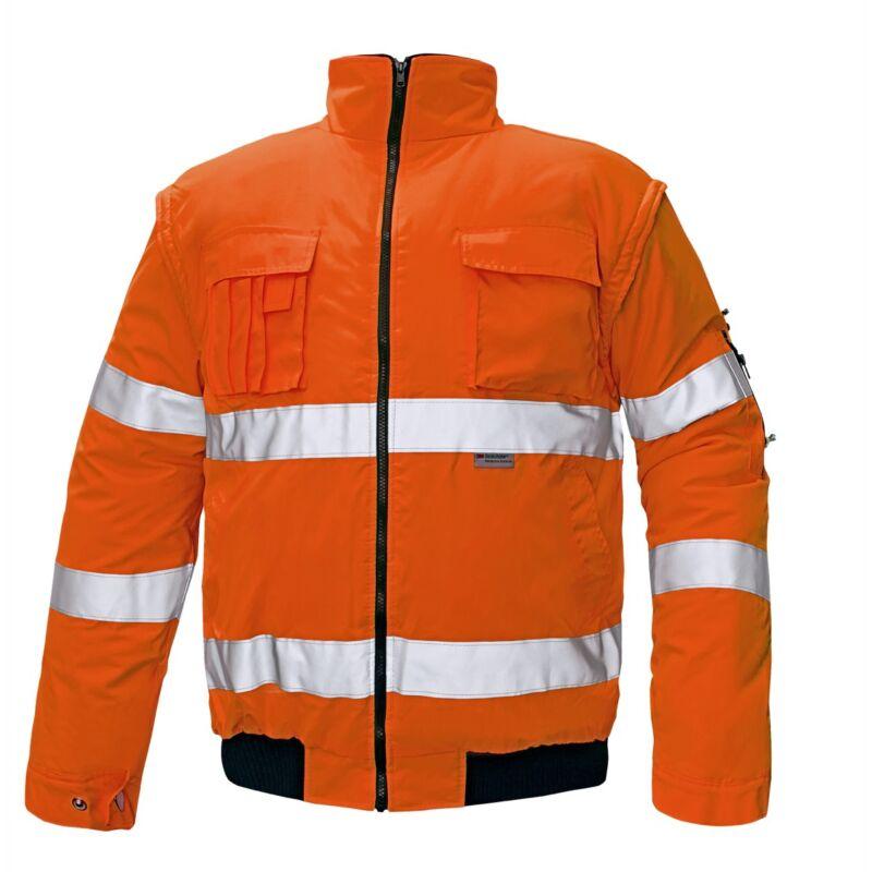 CLOVELLY pilóta dzseki H narancssárga