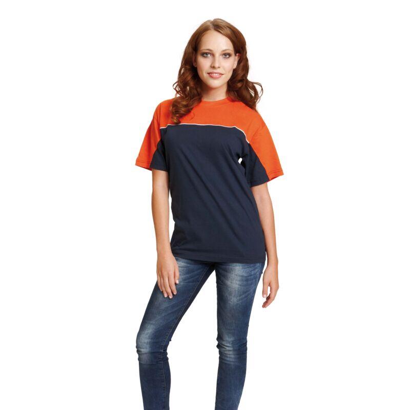 EMERTON trikó fekete/narancssárga