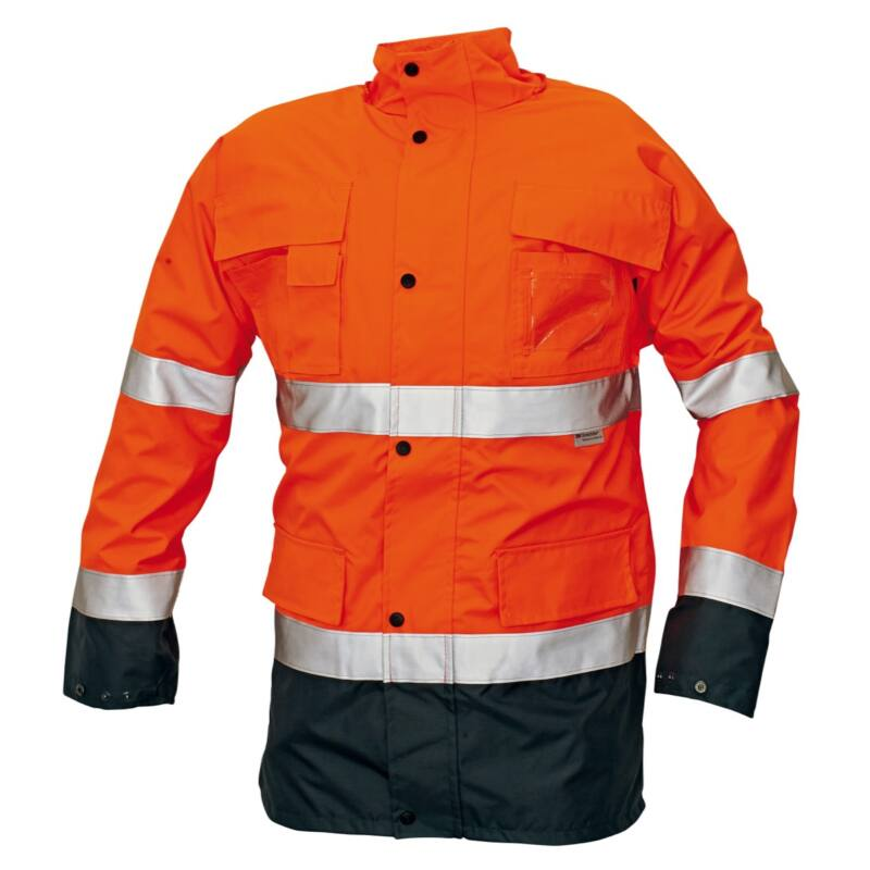 MALABAR meleg kabát HV narancs
