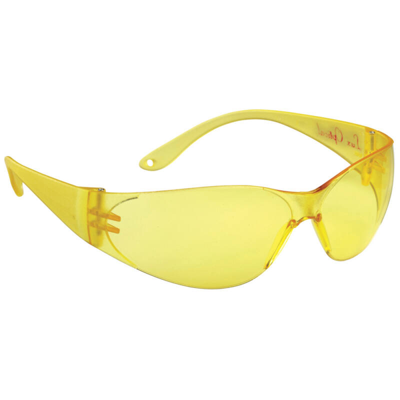 60556 POKELUX védőszemüveg, sárga