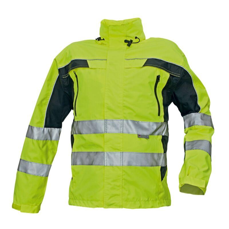 TICINO kabát HV sárga/fekete